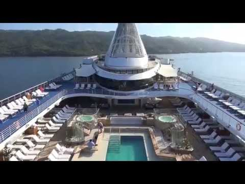 MS Riviera Oceania Cruises March 2015 Ship Tour