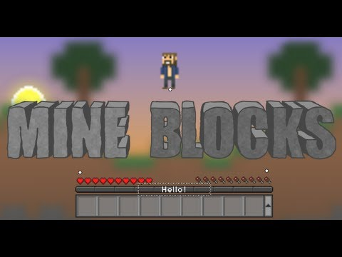 Behind the Scenes of Mine Blocks - 2D Minecraft