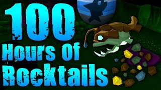 Runescape - Loot From 100 Hours of Fishing Rocktails