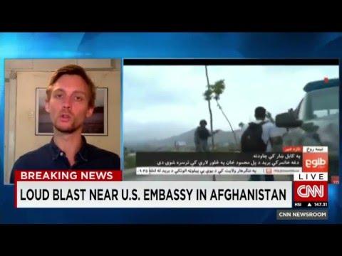 Taliban attack Kabul explosion near US Embassy Afghanistan kills 28