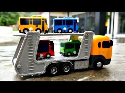 Мультики про машинки. Автобус Тайо и его друзья. Игрушки из мультфильма.