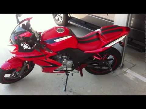 sxr 250 rtc sport bike