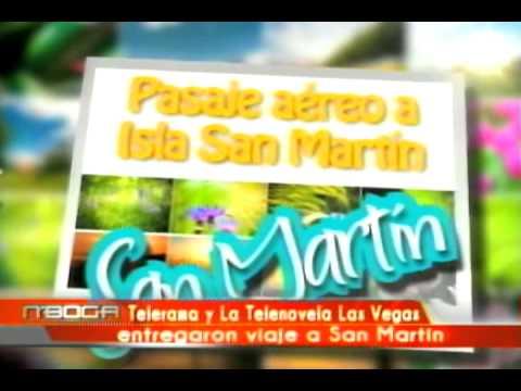 Telerama y la telenovela Las Vegas entregaron viaje a San Martín