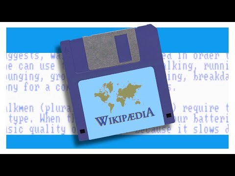 The Wikipedia in the  80s