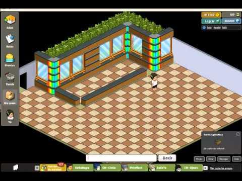 Creando sala en habbo