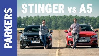 Kia Stinger vs Audi A5 Sportback | Which is better?