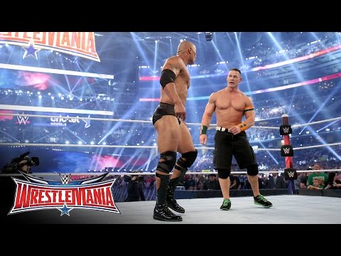 John Cena returned to join forces with The Rock: WrestleMania 32 on WWE Network