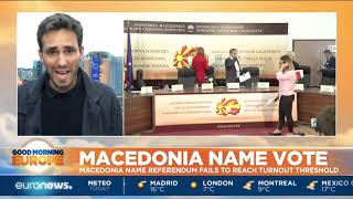 Macedonia name vote