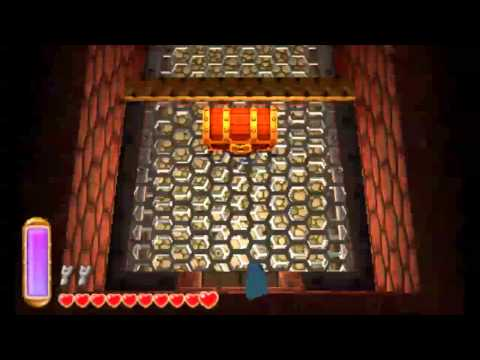 The Legend of Zelda: A Link Between Worlds - Turtle Rock (All Treasure Chests)