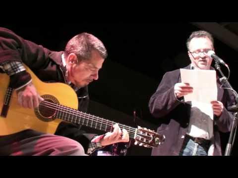 El poeta Paco Serrano y el Maestro Julian