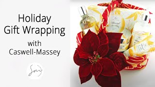 Holiday Gift Wrapping with Caswell-Massey (6 Creative Gift Wrapping Ideas!)