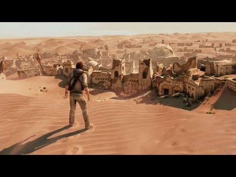 Uncharted 3 : 5 min desert gameplay !
