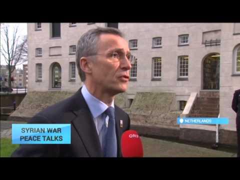 Syrian War Peace Talks: NATO says Russian airstrikes undermine Syria peace talks