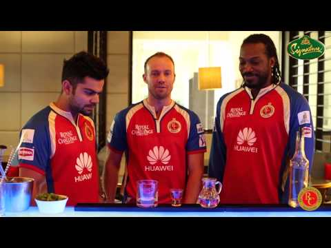 Making of the RCB Signature Cocktail - Starring Virat Kohli, Chris Gayle, AB de Villiers