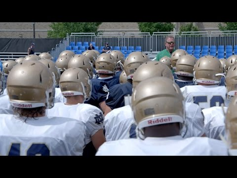 A SEASON WITH NOTRE DAME FOOTBALL | Series Premiere Preview