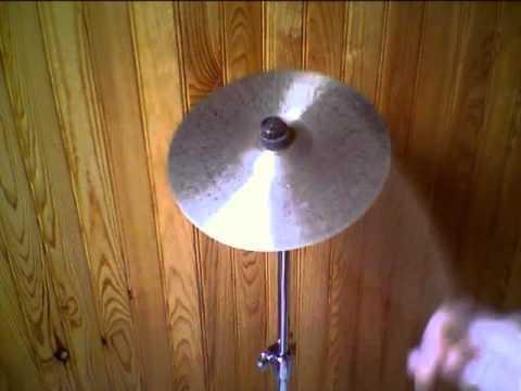 """Agean Silver Formula Splash 10"""" cymbal"""