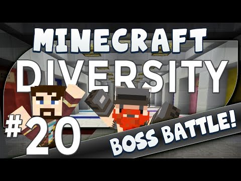 Minecraft Diversity #20 Two Men Enter (boss Battle) video