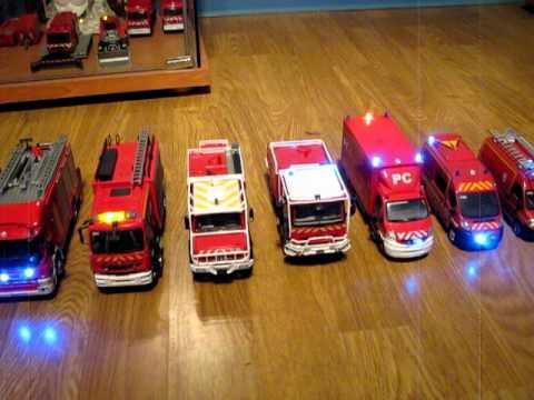 véhicules miniature pompier 3