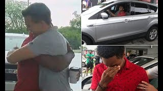 Man who walked 20 miles to get to work is gifted new car - 247 news