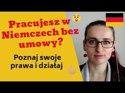 Ustna Umowa O Pracę W Niemczech I Umowa