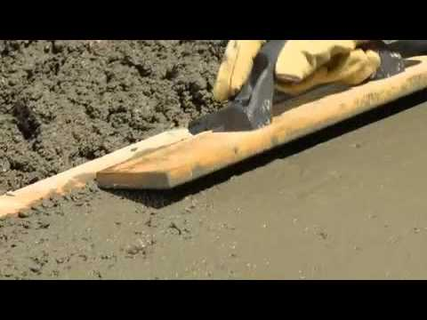 How to Pour Concrete with QUIKRETE®