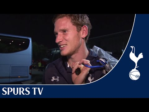 Jan Vertonghen thanks fans for winning Player of the Month for September