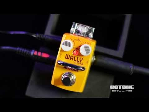 Hotone Skyline Series WALLY Looper Mini Guitar Loop Station Pedal