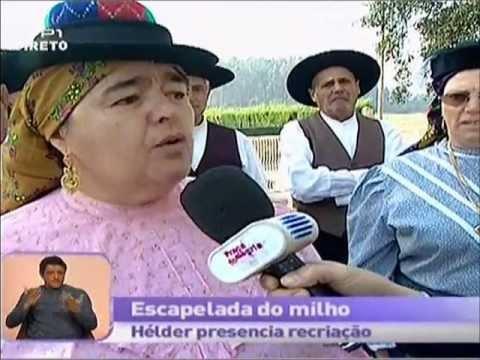 Reportagem RTP Pra�a da Alegria 18/10/11 - Forcada - Aguada de Cima - �gueda