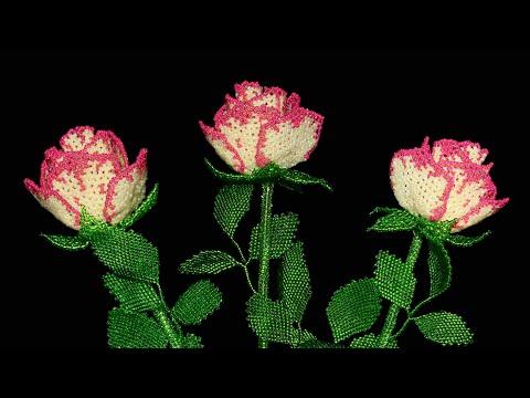 My Beaded Flowers. Мои цветы из бисера - YouTube