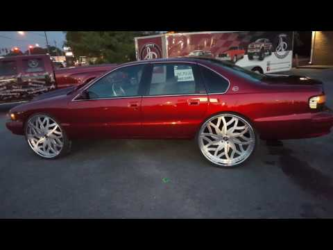 95 Impala SS Candy apple red Brooklyn NY / johns restoration