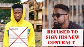 EXCLUSIVE: Reason Why Sarkodie Refu$ed to Sign and Renew Strongman's Record Deal Contract