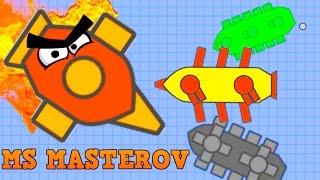 RAM KILLING NEW DOBLONS.IO MASTEROV BOSS!! // How To Beat Any Boss By Ramming