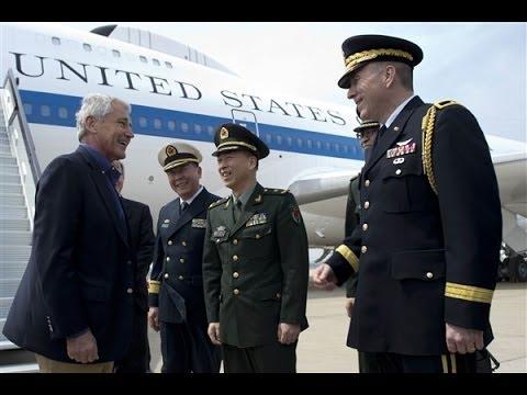 Bộ trưởng Quốc phòng Mỹ thăm tàu sân bay Liêu Ninh