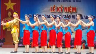 """Múa """" Hội Khúc Dân Gian """" - 12D3 THPT Lê Quý Đôn- Hà Đông"""