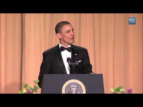 Barack Obama Tells Jokes That Are Actually Funny video