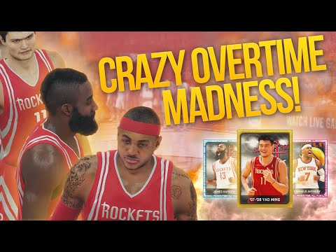 NBA 2K15 My Team OVERTIME MADNESS! YAO MING GOING OFF!