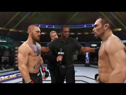 EA SPORTS UFC 3 First 22 Mins of Xbox One X Gameplay Footage [4K]
