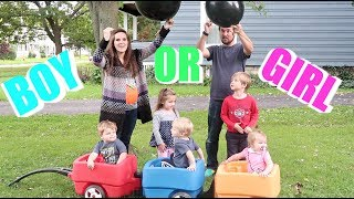 SURPRISING MY HUSBAND AND KIDS WITH OUR 6TH BABY'S GENDER