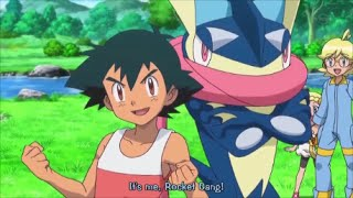 Pokemon XY And Z ASH GRENINJA AMV CLOSER