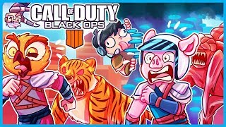 BLACK OPS 4 IX ZOMBIES EASTER EGG but we're way too stupid to ever complete it...