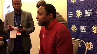 Alabama coach Avery Johnson on dealing with new expectations for 2017-18 | SEC Media Day