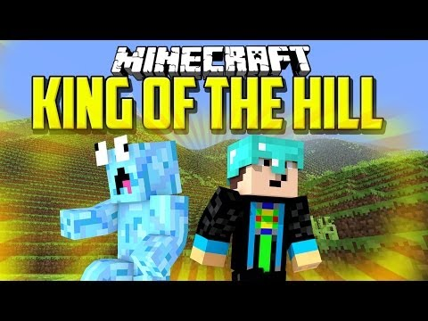 Minecraft PvP Map: KING OF THE HILL - YOUTUBER PvP Map EVENT [2/3]