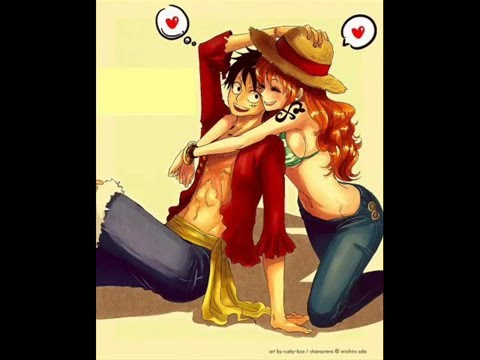 One Piece - Luffy And Nami video