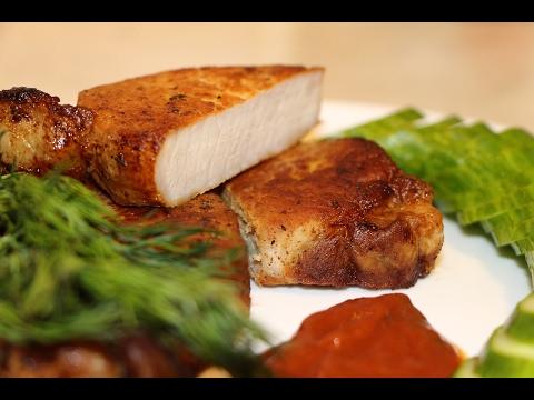Как аппетитно пожарить свинину