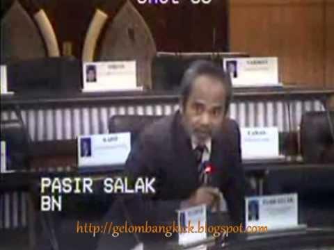 Tajuddin Gila Seks, Keluar Air Dalam Parlimen