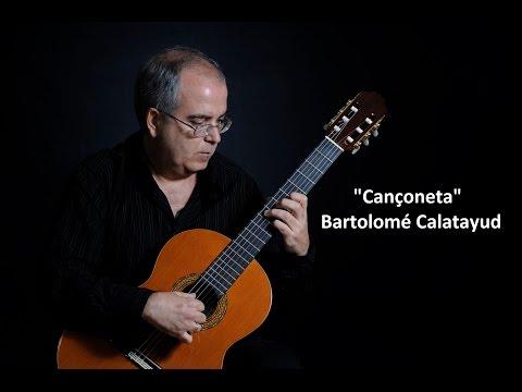 Bartolome Calatayud - Canconeta