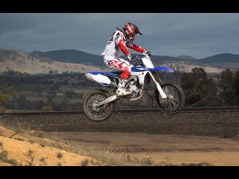 Yamaha YZ450F in 4-Day Enduro by Adam Riemann.