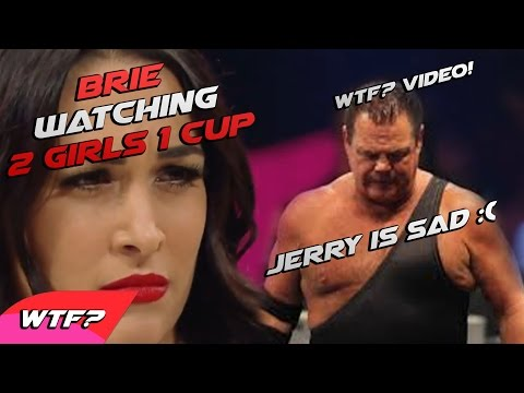 WTF VIDEO! Brie Bella Watching 2 Girls 1 Cup! Lawler is Sad! Cool Ending! - WWE FUNNY MOMENT 2014