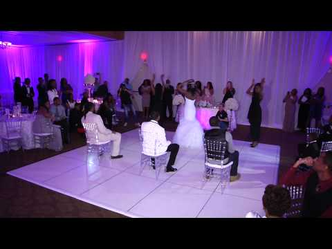 Beyonce Surprise Wedding dance with Bridesmaids !!!!!!!