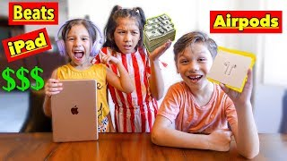 Anything 4 Year Old & 7 Year Old Can Spell, I'll Pay For!!! - Challenge | Familia Diamond